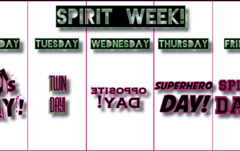 Spirit Week is here!