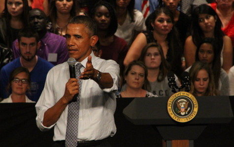 Obama visit is positive, other schools' students react harshly