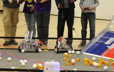 Robotics team hosts a 10-team tournament