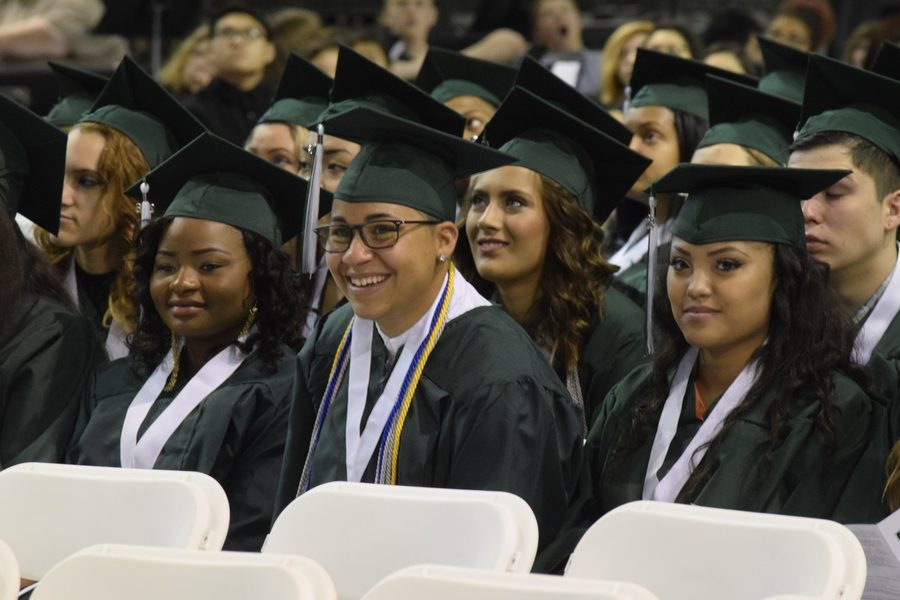 Class of 2016 graduates May 28