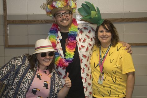 Spirit Week: Tropical Tuesday and Wacky Wednesday