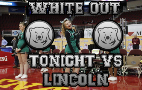 White Out Tonight February 24th vs Lincoln!