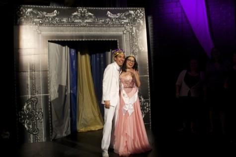 Prom King Arturo Hernandez and Prom Queen Iliana Castillo.