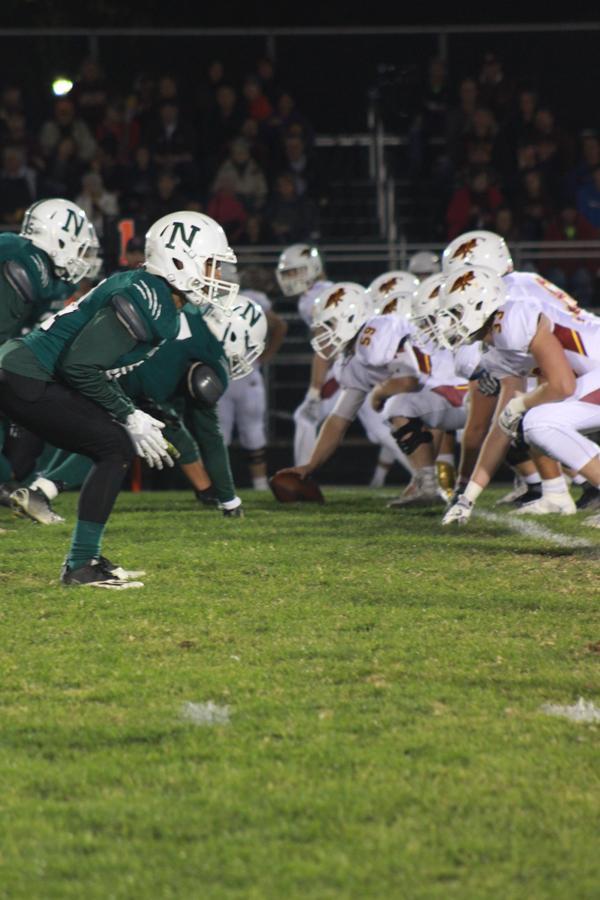 The polar bears play against Ames high school on October 14.