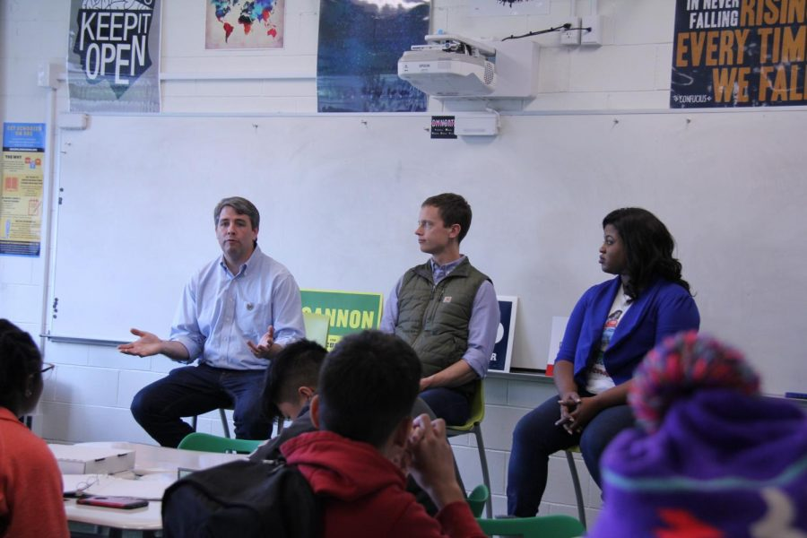 Democratic Candidates Visit North High Government Class
